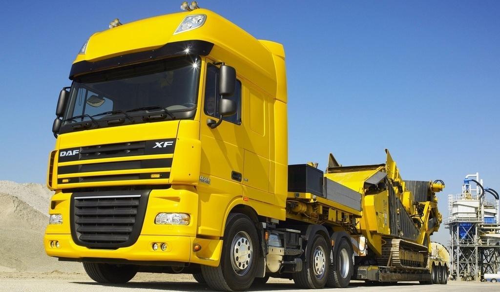 Daf, грузовик, полуприцеп, xf-10…
