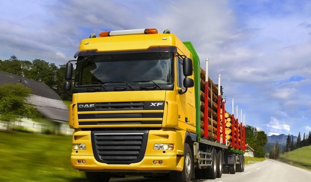 Обои Грузовики DAF Trucks Автомо…