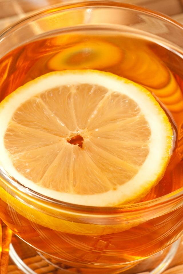 лимон, Чай, блюдце, чашка, корица