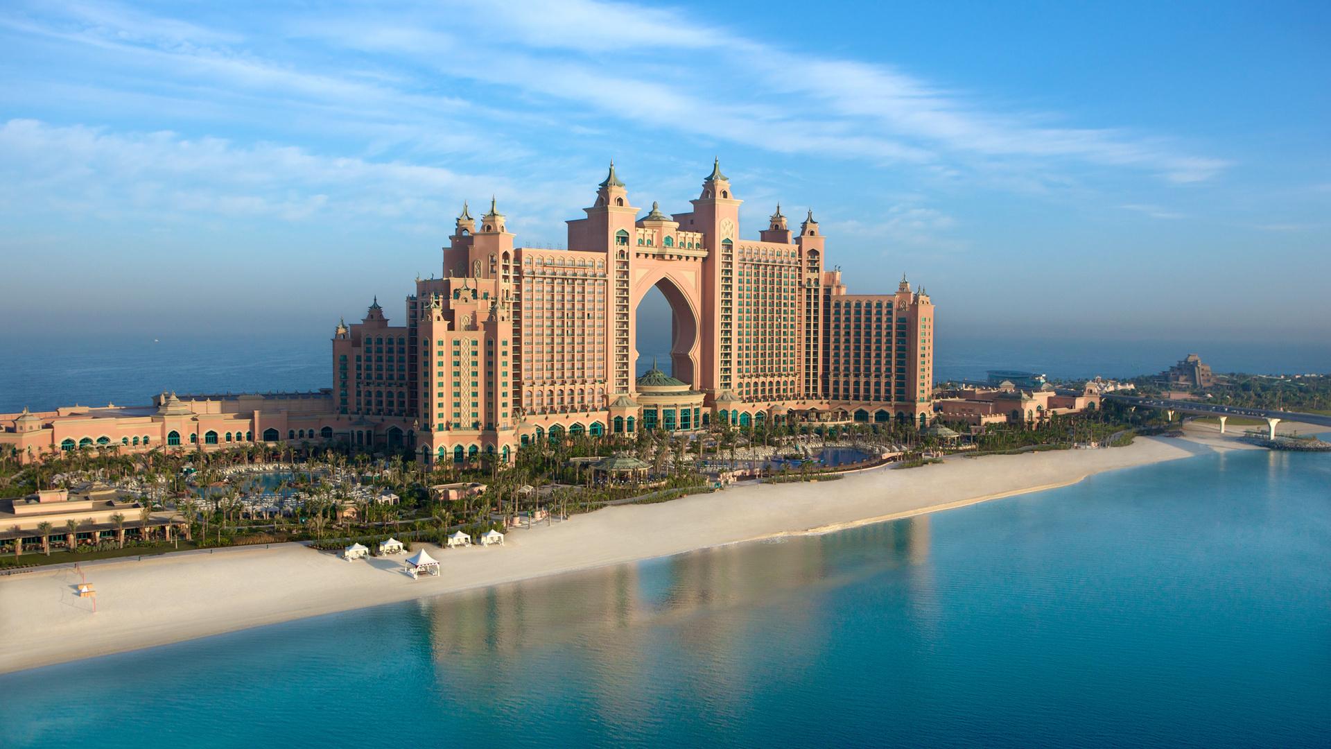 Atlantis, город, пальма, the palm, джумейра, атлантис, отель