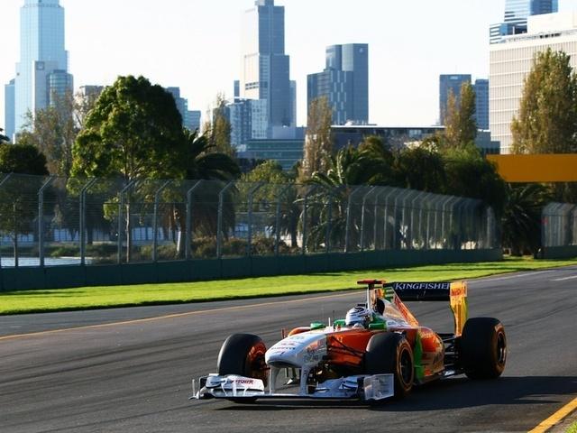 force india, F1, 2011, australiangp, andrian sutil, гран-при, австралия