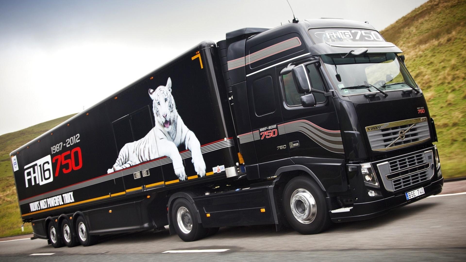 Грузовик truck вольво обои 750 л с volvo
