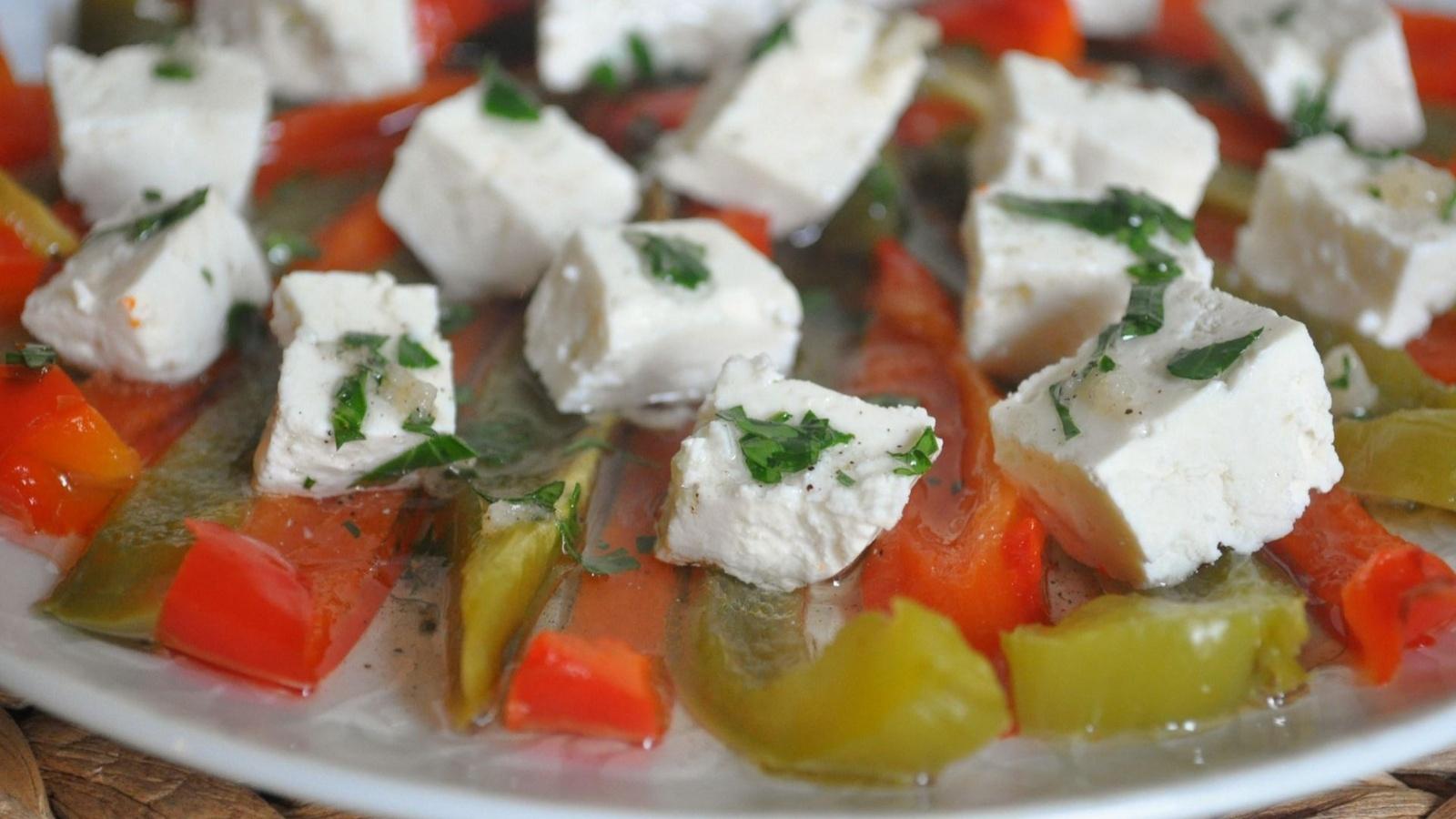 Брынза салат фото