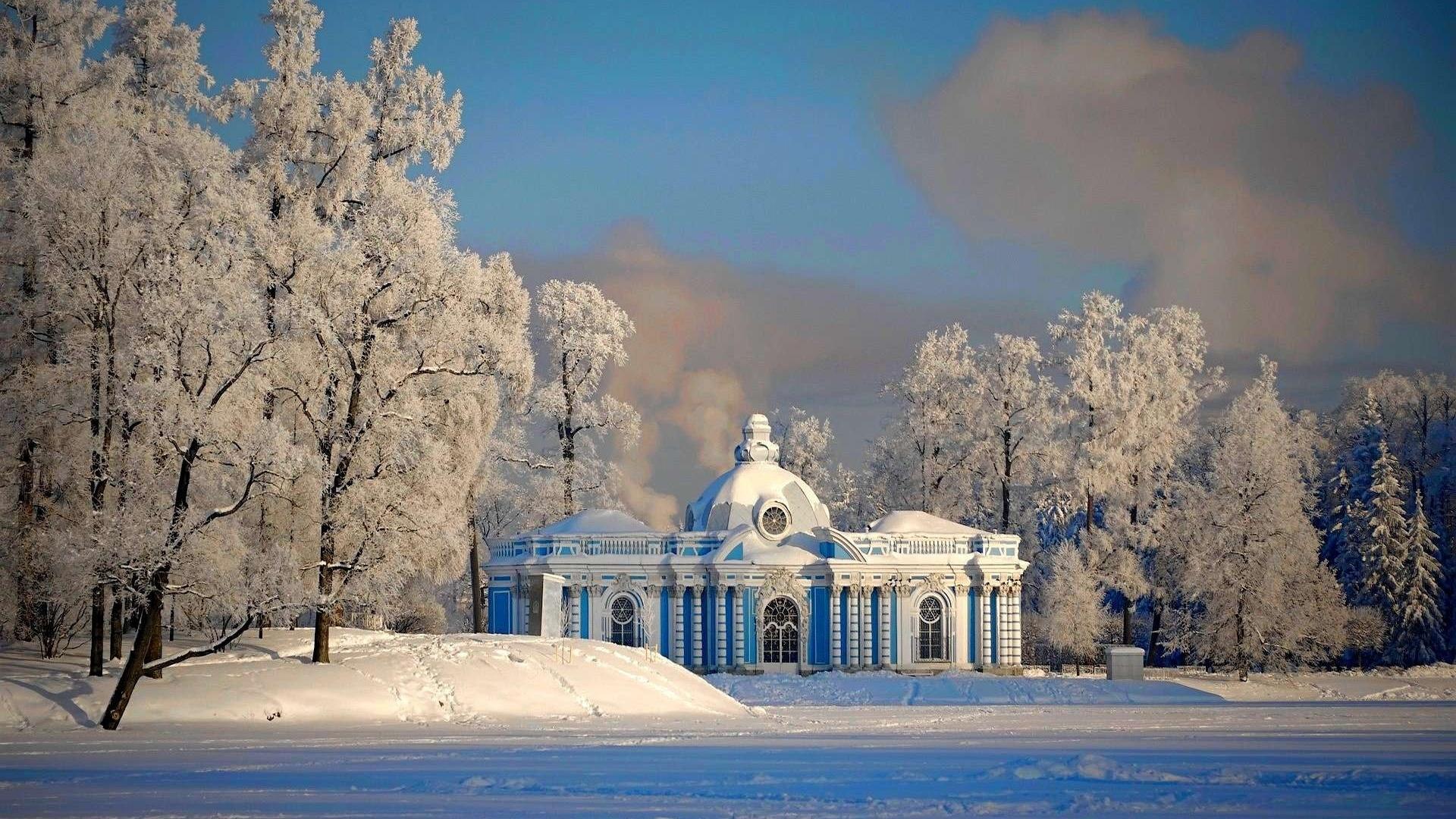 Beautiful snowy Russian winter (HD wallpapers) | Volganga
