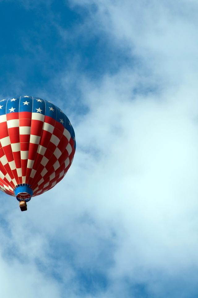 спорт, воздушный шар, небо