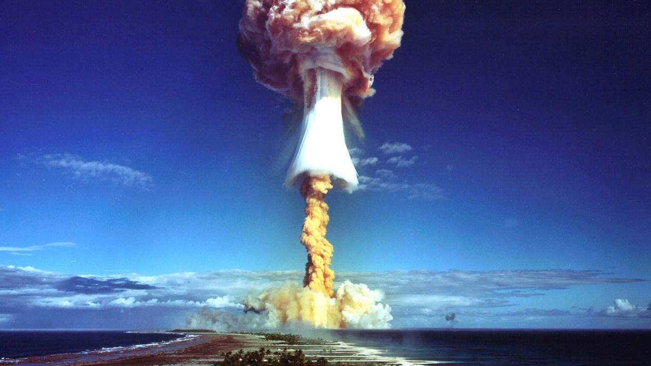 atomic, bomb, landscape, sea