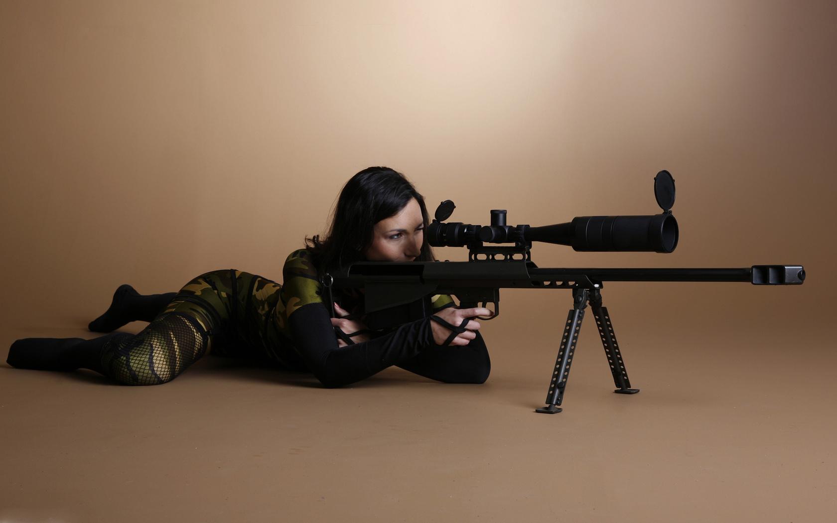Снайпер, камуфляж, прицел, винтовка