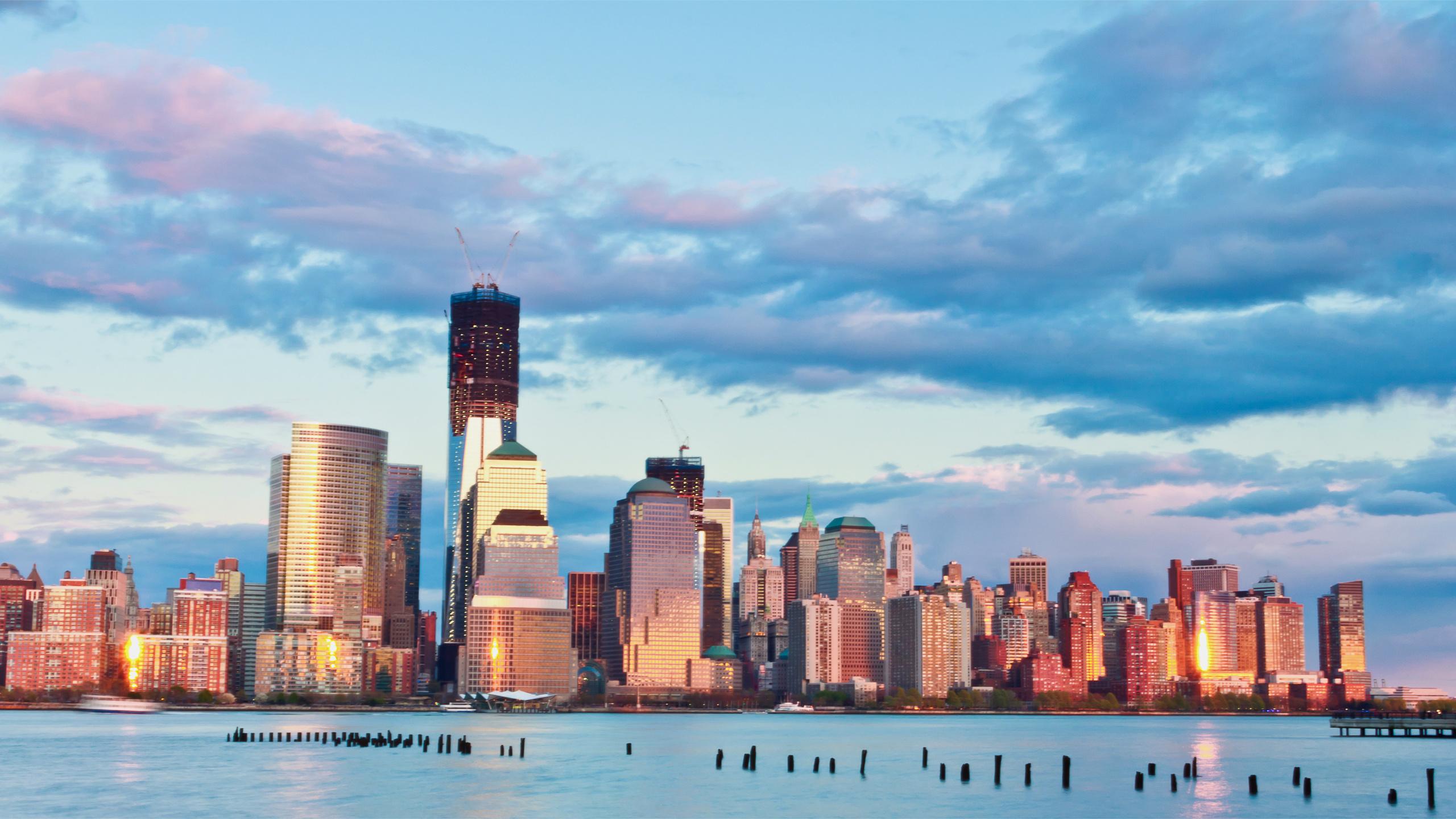 нью-йорк, здания, Usa, небоскребы, сша, мегаполис, new york