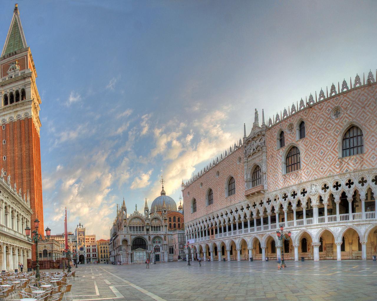 площадь сан-марко, italy, Piazza san marco, venice, италия, венеция
