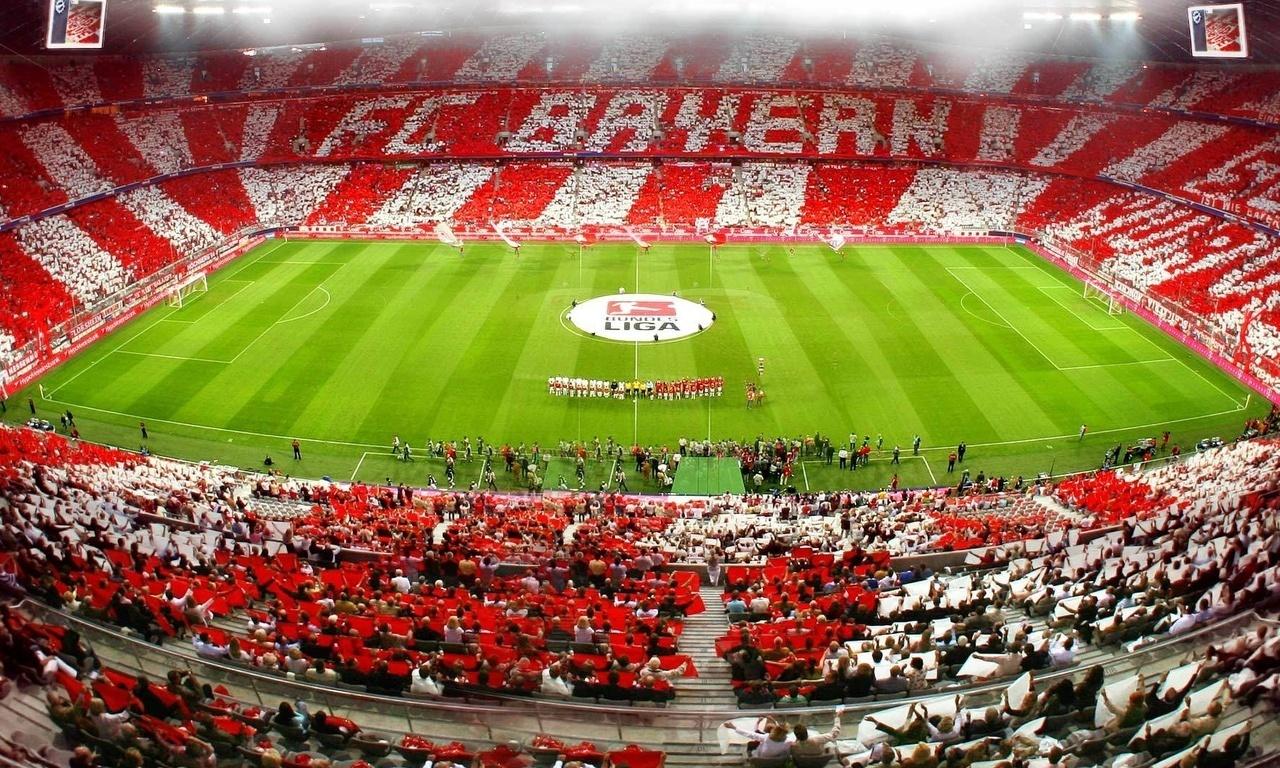 бавария, allianz arena, Bayern munchen