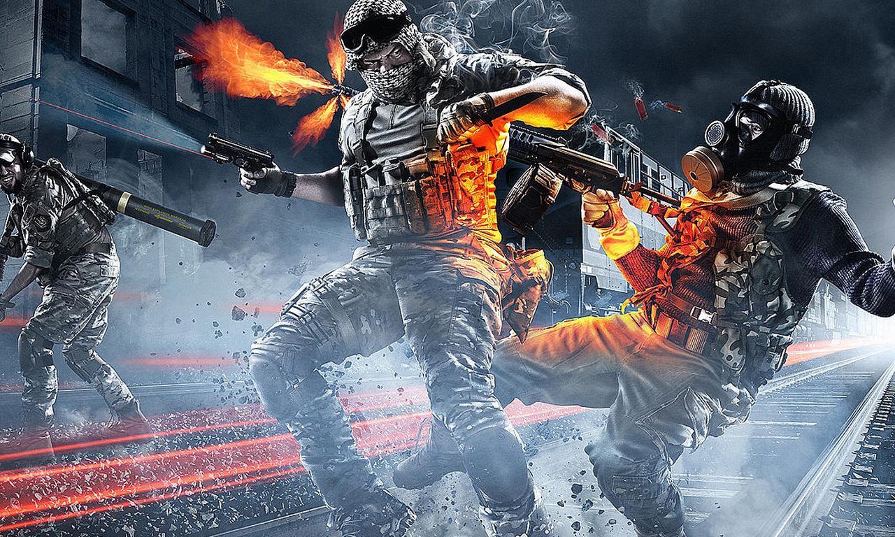 Battlefield 3, война, бандиты, поле битвы 3, солдаты, war