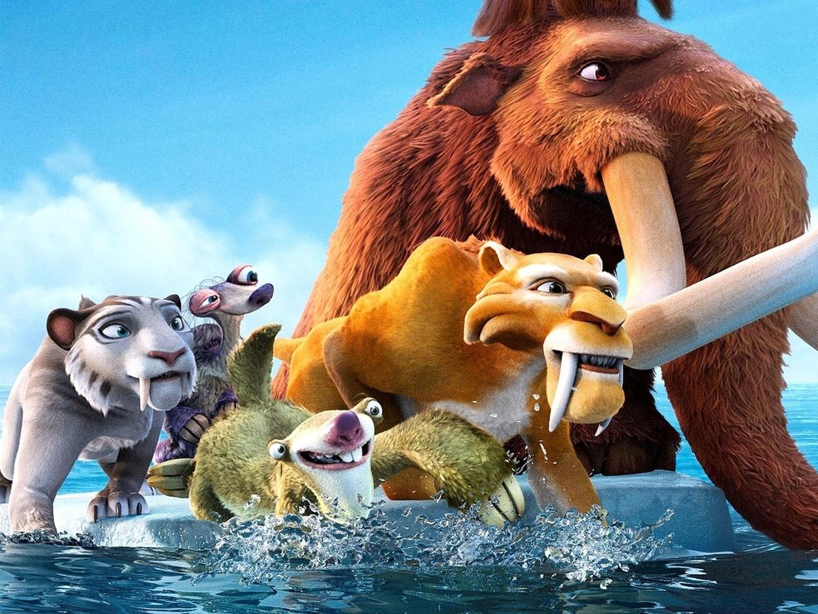 мультфильм ледниковый период 4