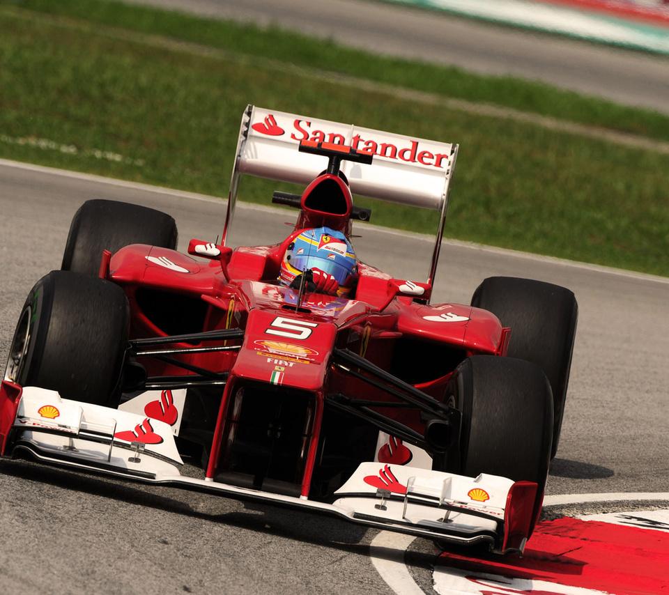 феррари, f2012, Ferrari, алонсо, alonso