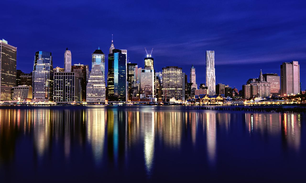 мегаполис, new york, небоскребы, сша, нью-йорк, здания, Usa