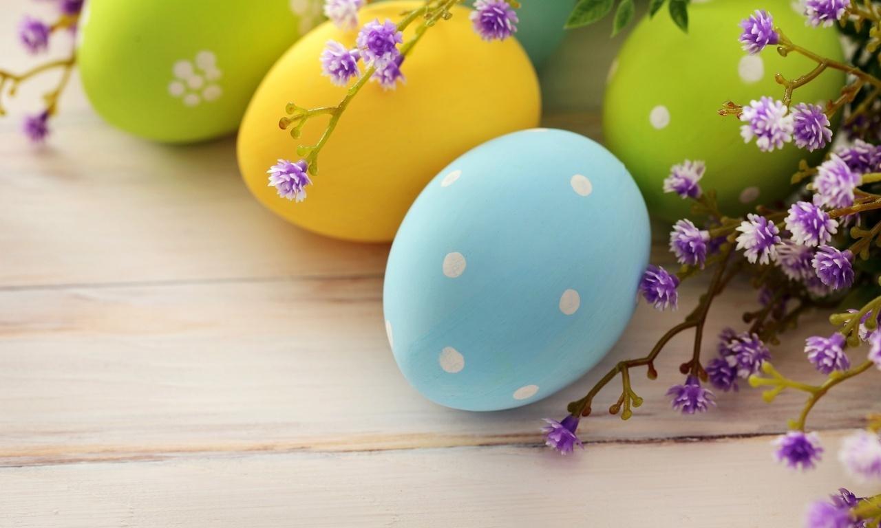 праздник, яйца, easter, ветка, весна, пасхальные, Пасха
