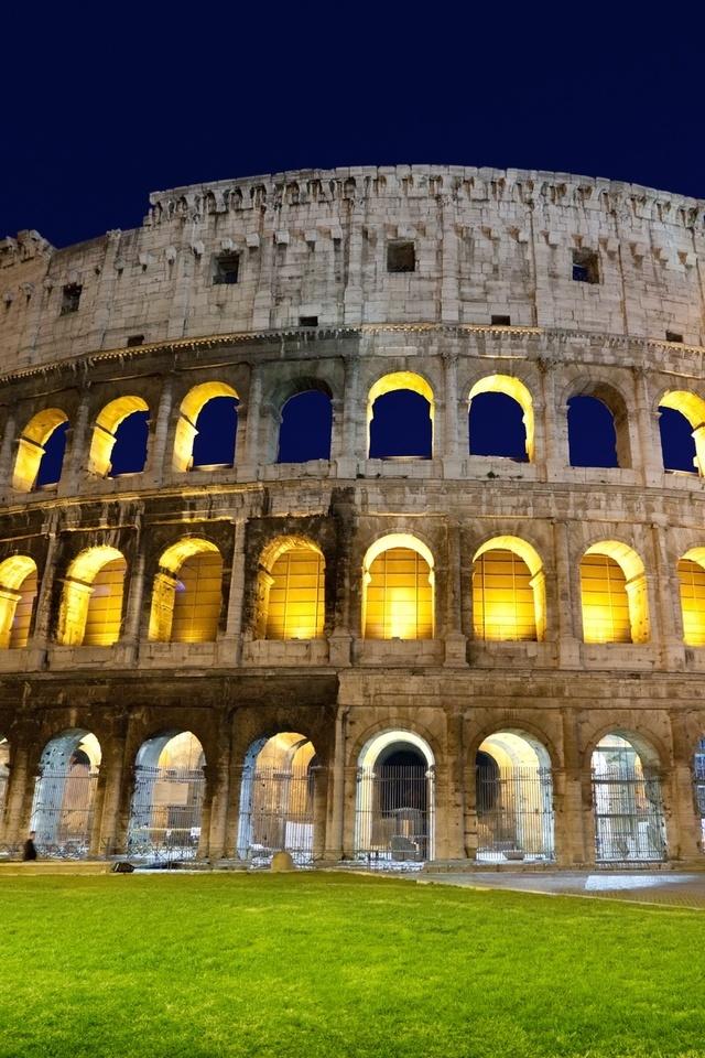 рим, колизей, Colosseum, амфитеатр, rome, italy, италия