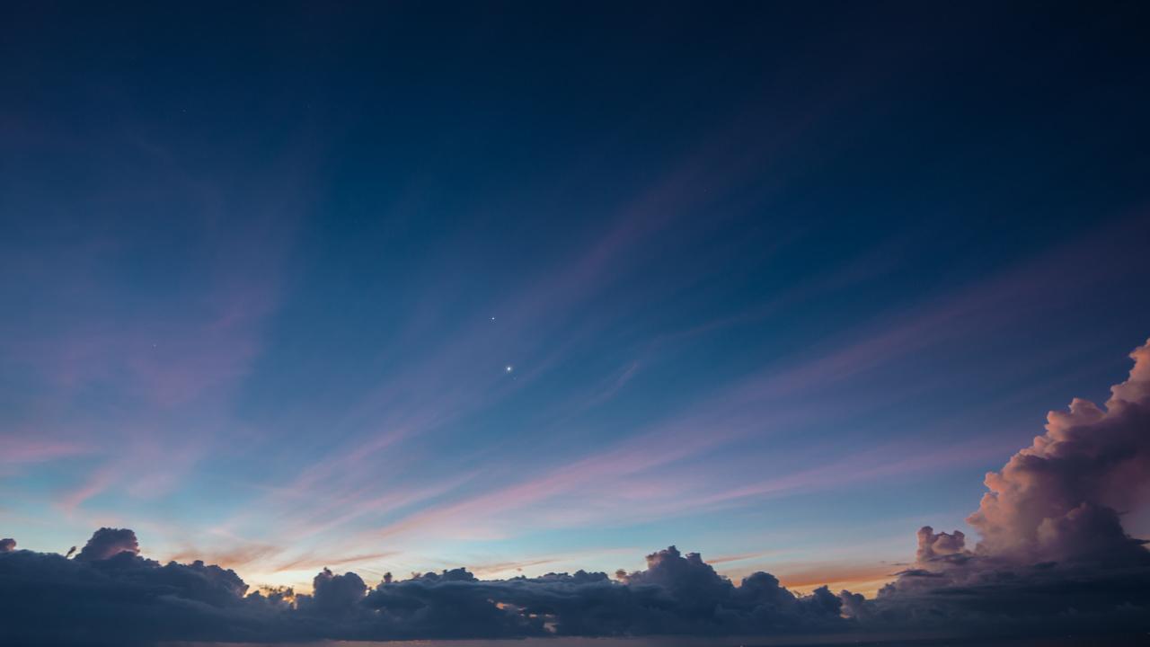 тучи, звёзды, Небо, небосвод, звезда