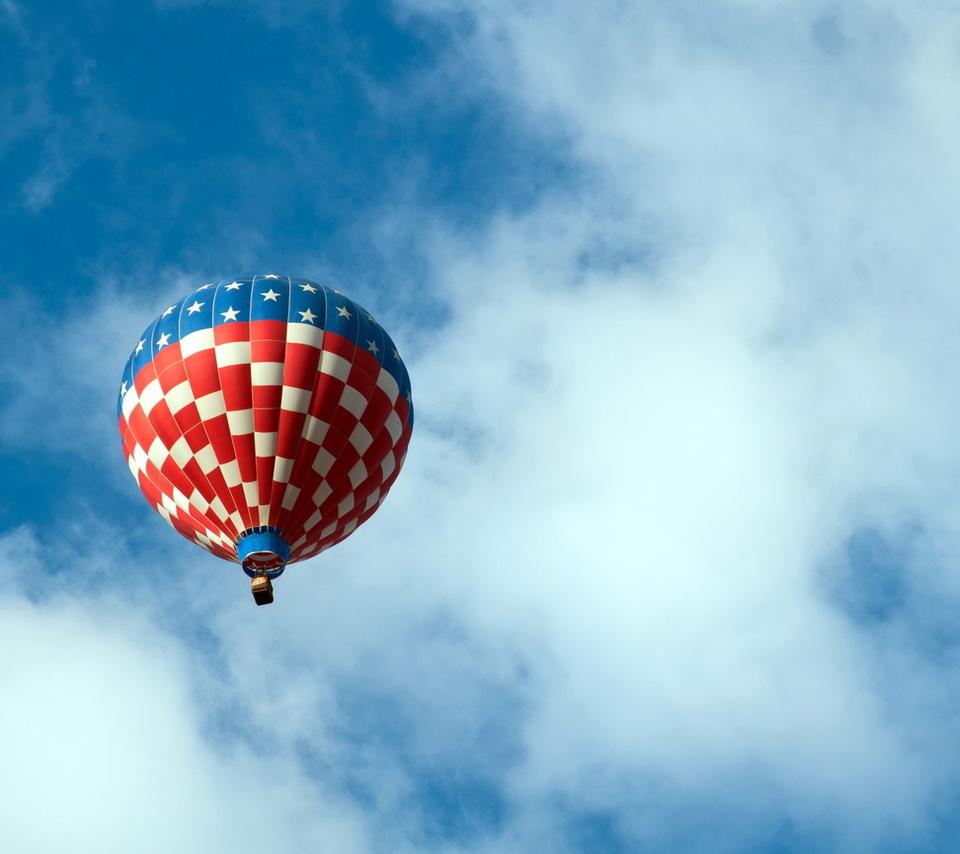 спорт, небо, Воздушный шар
