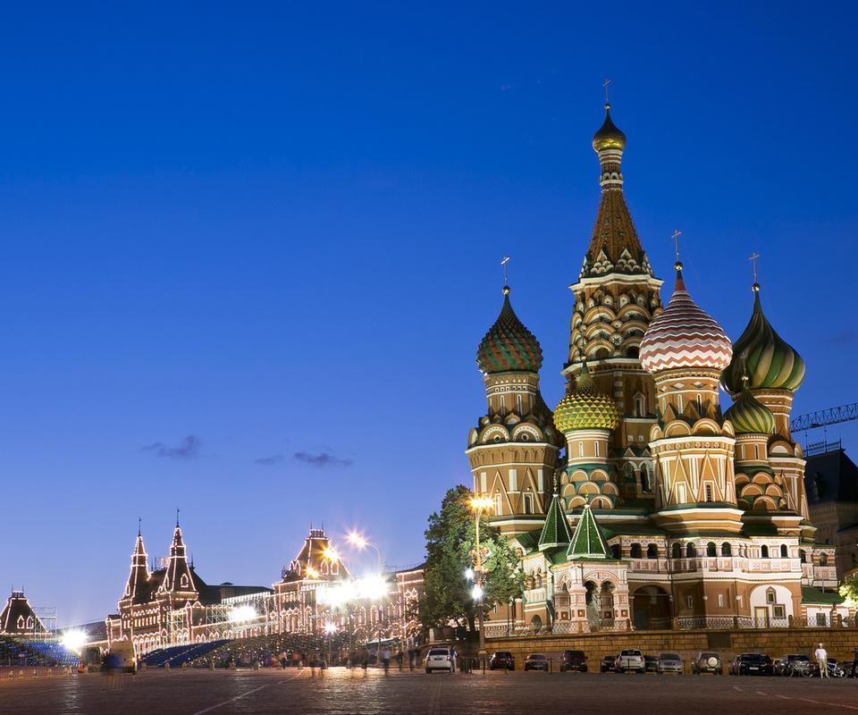 Россия, красная площадь, город, москва, столица