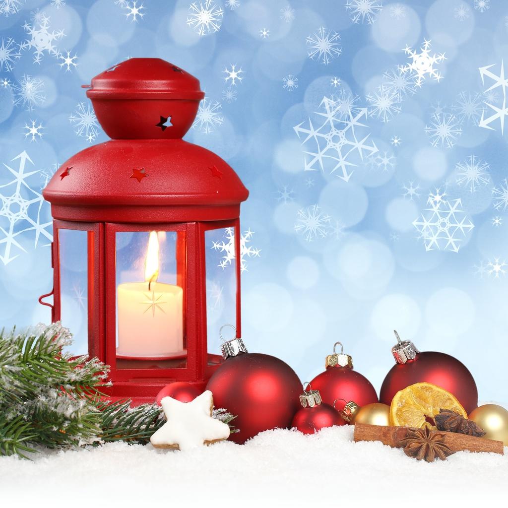 merry christmas, ornaments, новый год, snow, New year, balls, lantern, stars, snowflake
