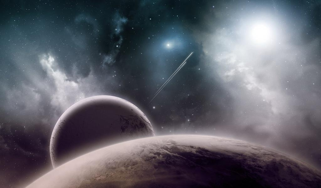 Космос, звезды, планеты, галактика