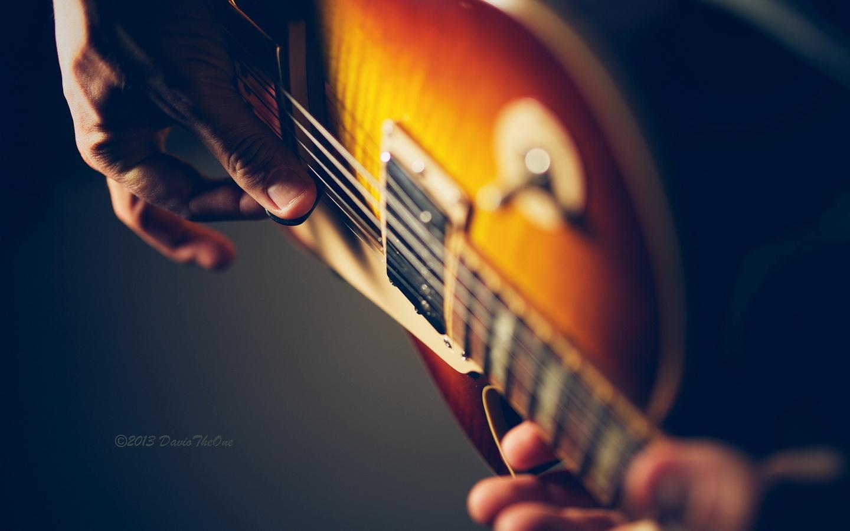 макро, музыка, Гитара