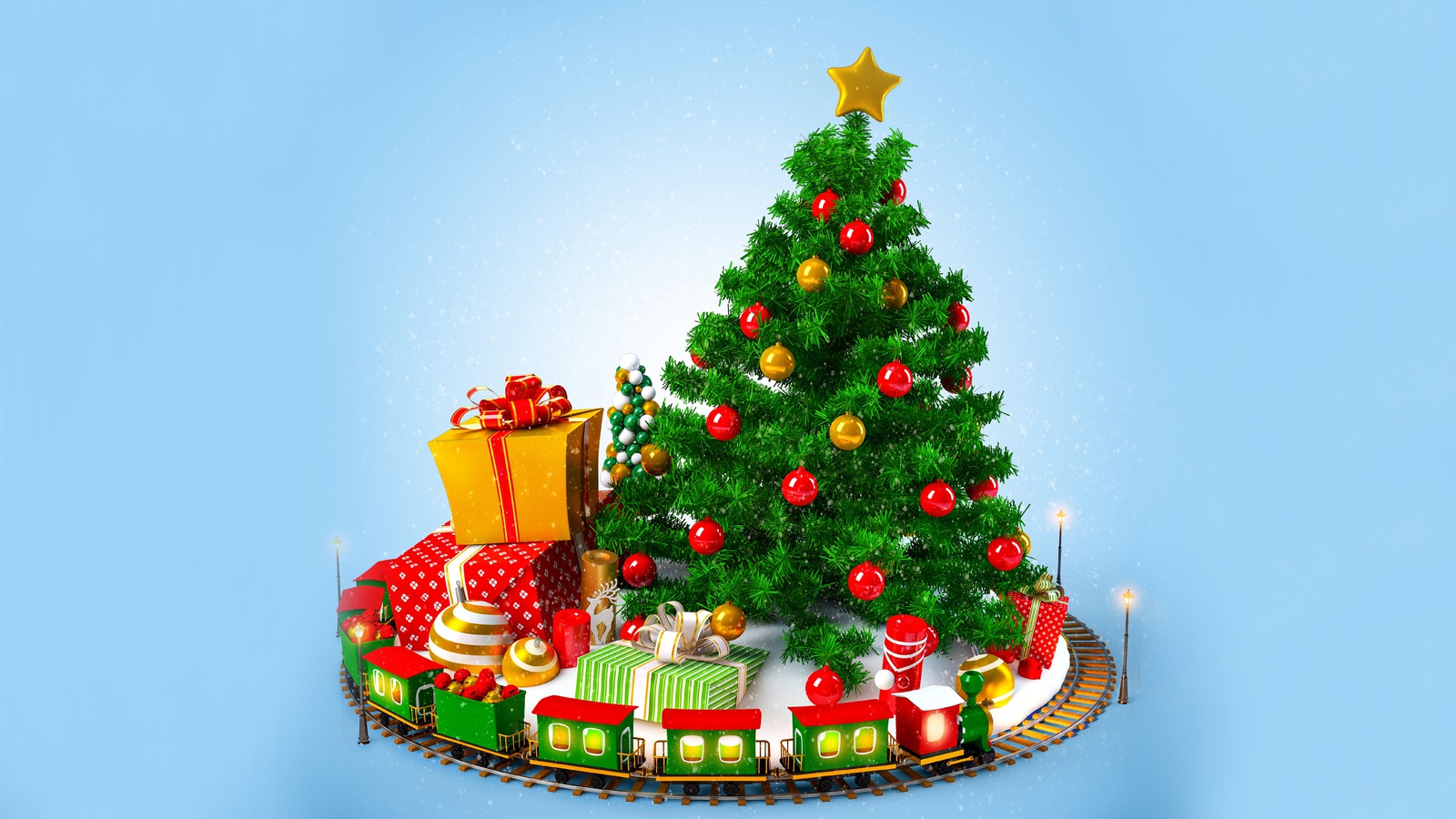 decoration, dolls, New year, gifts, toys, ornaments, balls, christmas tree, merry christmas
