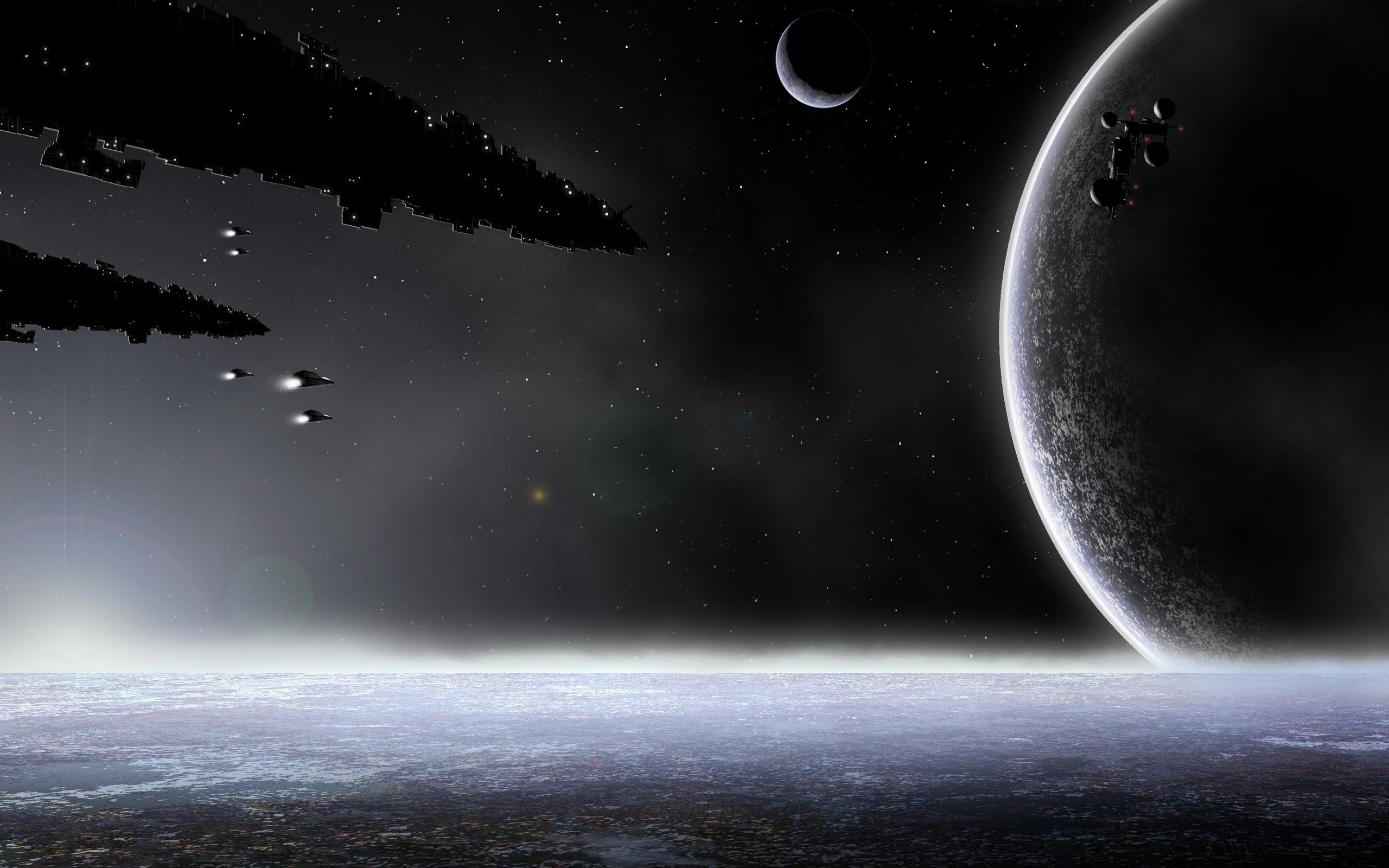 планеты, Space, космос, корабли