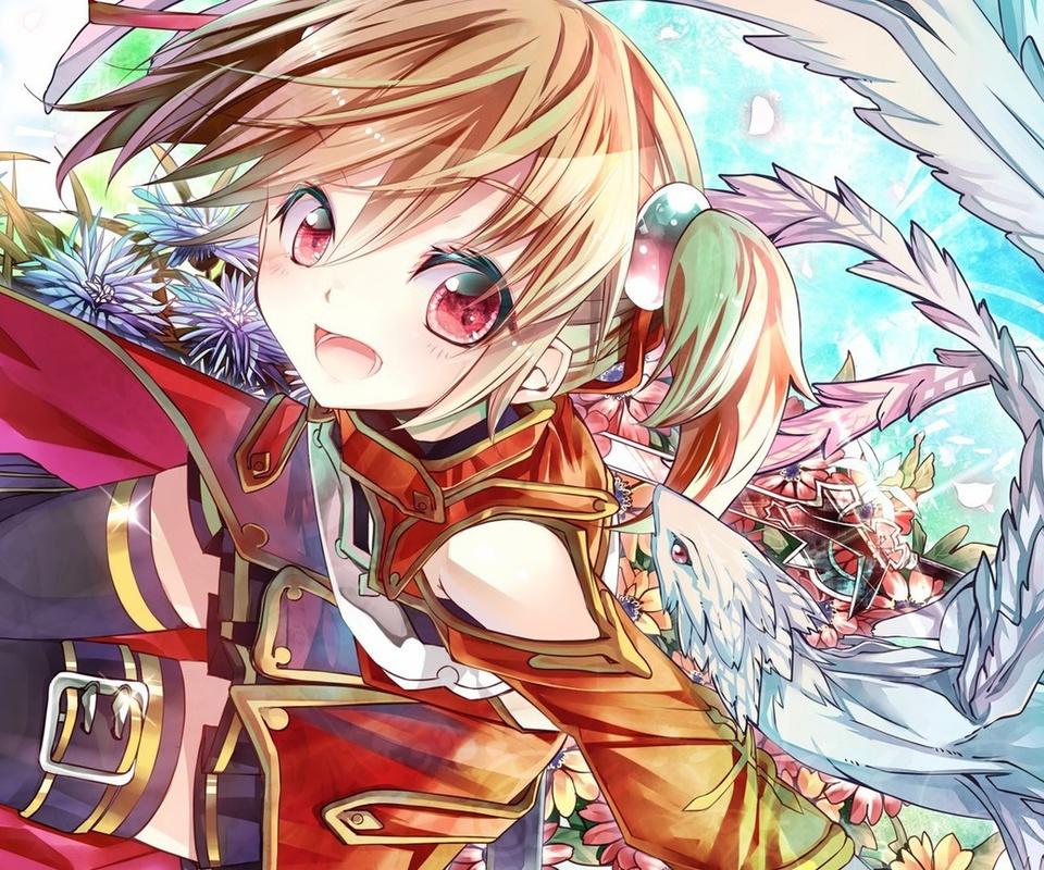 Anime, pina, sword art online, silica, art