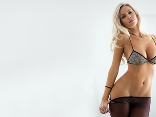 body, models, tits, boobs, girls, beautiful, blondes, Devin justine, lingerie, stockings, women