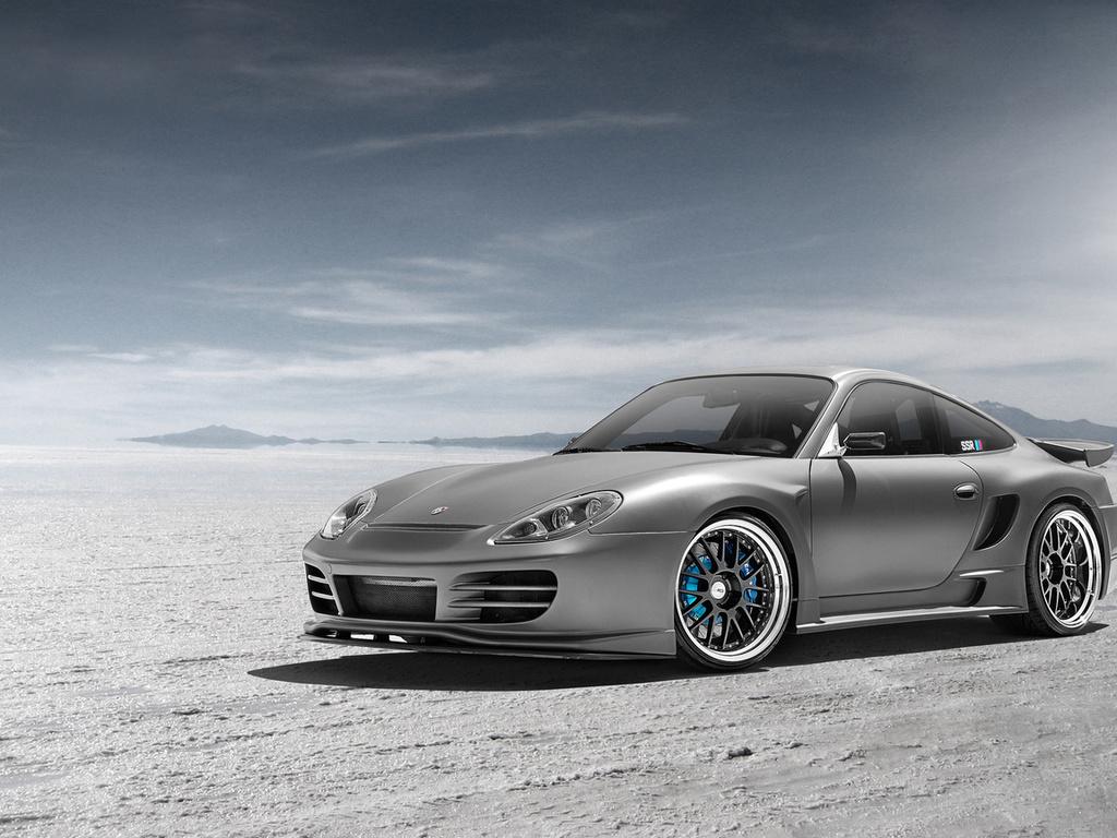widebody, порше, top secret, Porsche, front, 996, silvery, 991, серебристый, ssr