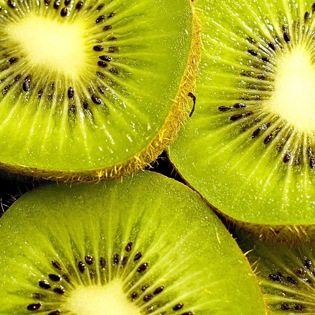 Еда, фон, дольки, обои, семена, киви, зеленый, ягода
