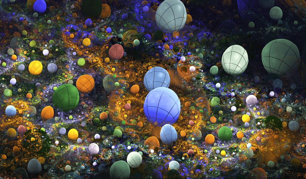Свет, яйцо, море, дно, цвет, море, шар, камешки