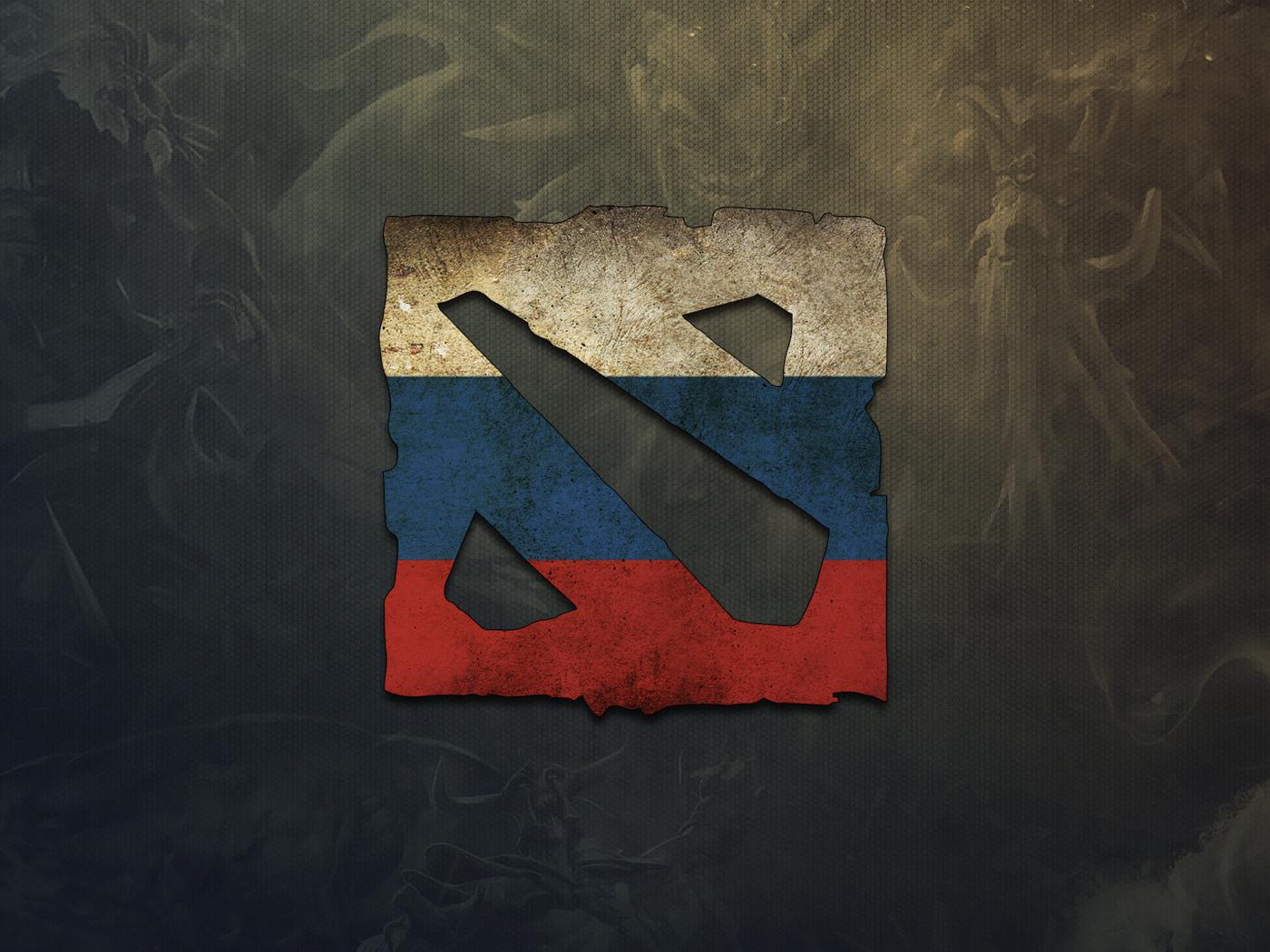 russia, Dota 2, game, игра, логотип, logo, россия, дота 2
