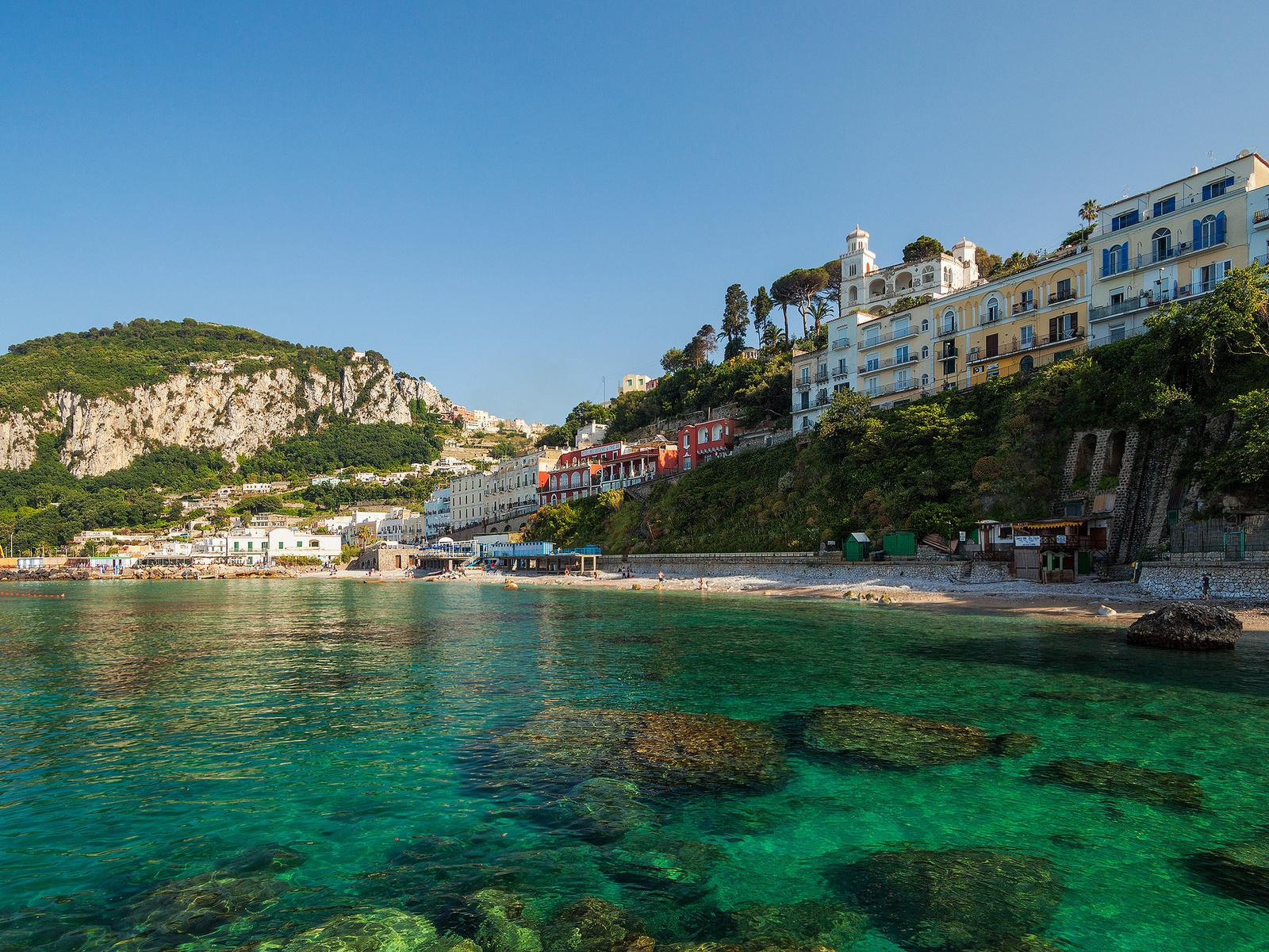 анакапри, остров, город, Anacapri, capri, italy, капри, porto marina grande