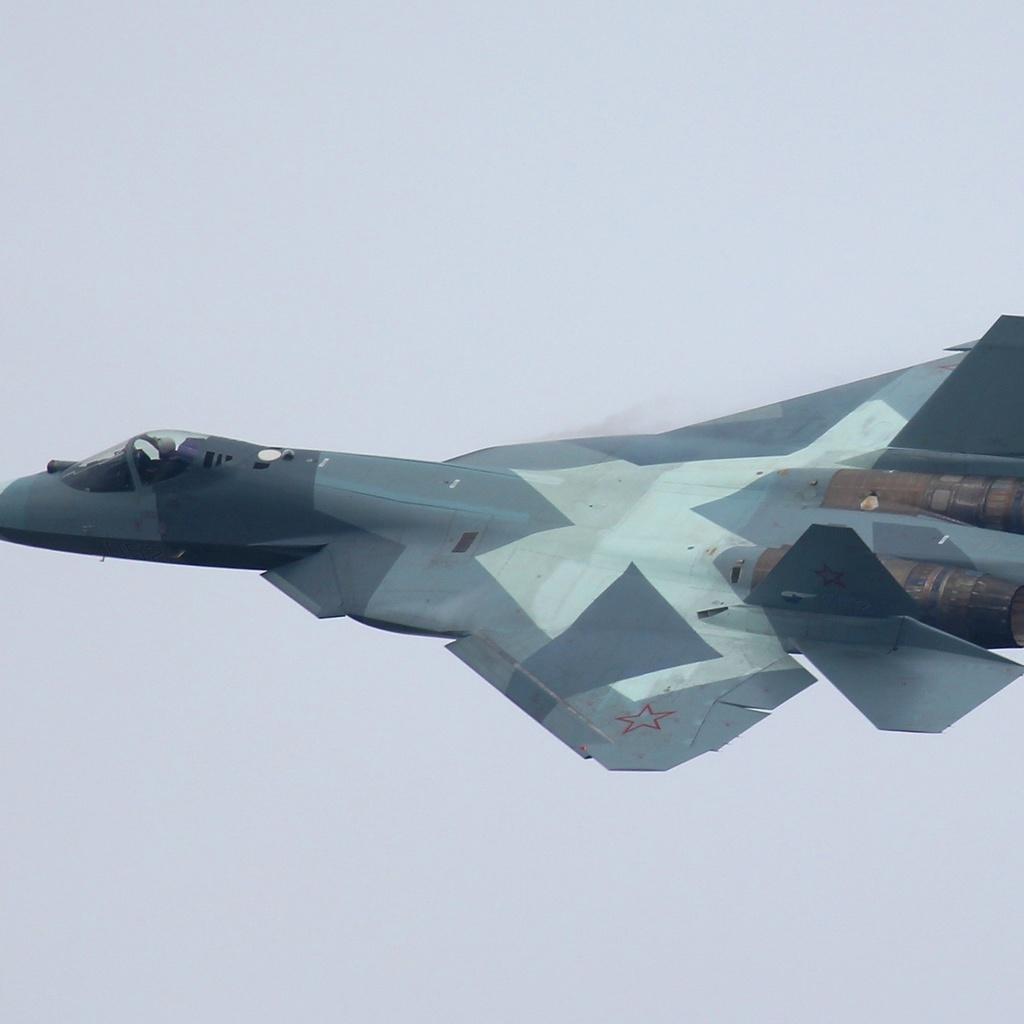 t-50-2, самолёт, sukhoi, российский, многоцелевой, Небо
