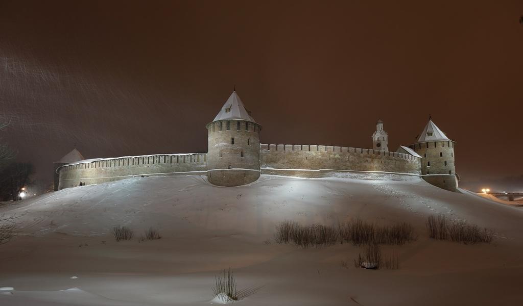 новгородский кремль, город, северная часть, Новгород