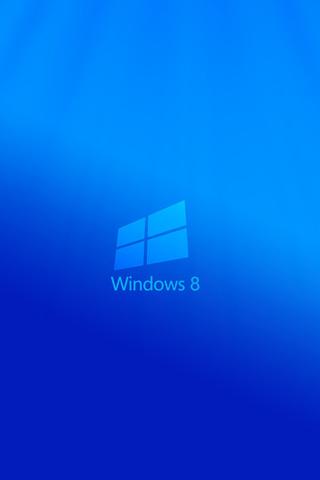 Windows 8, восьмёрка, логотип, 3d, минимализм, minimal