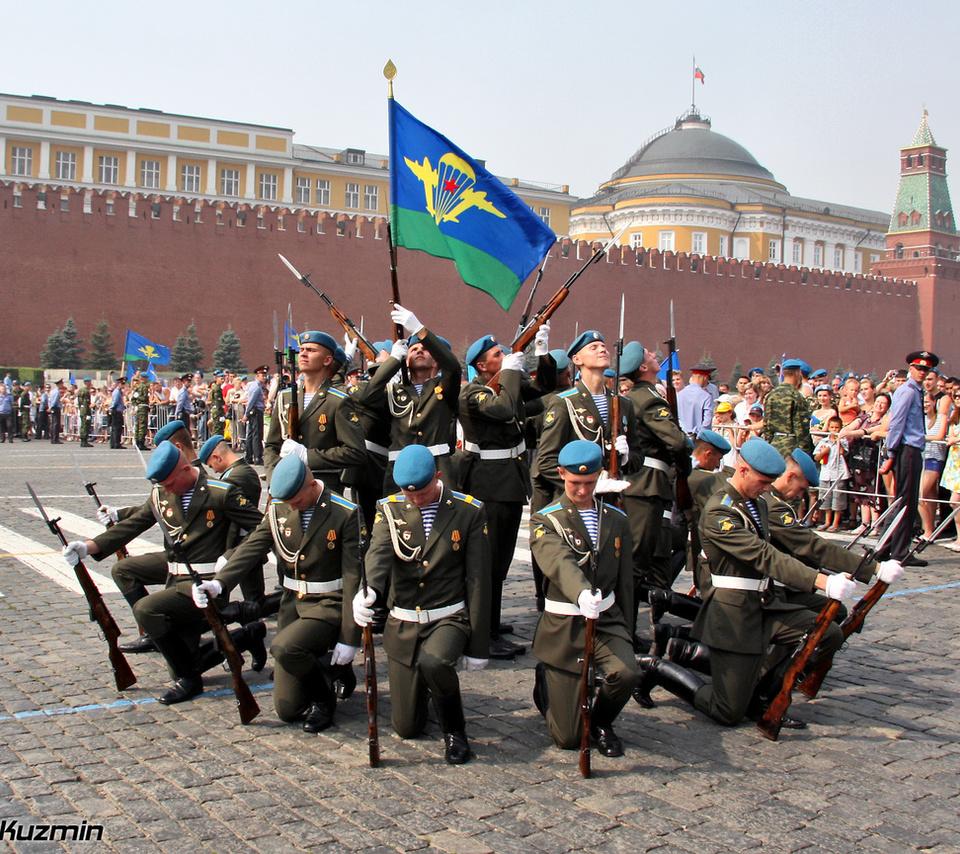 парад, полиция, десантники, площадь, красная, Вдв